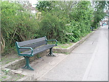 SZ6599 : Benches in Goldsmith Avenue by Basher Eyre