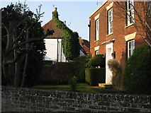 TR3054 : The Old Brewery House and rear of the Five Bells by Nick Smith
