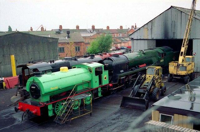 A Railway Depot