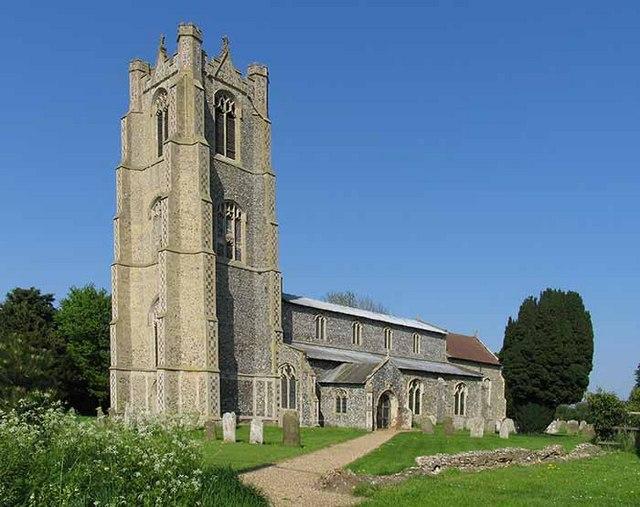 St Andrew's Church, Deopham, Norfolk