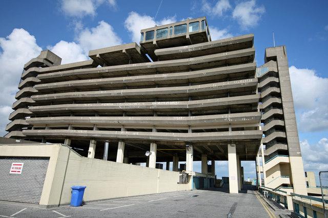 Gateshead multi-storey car park