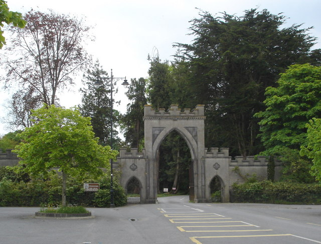Entrance to Strokestown Park