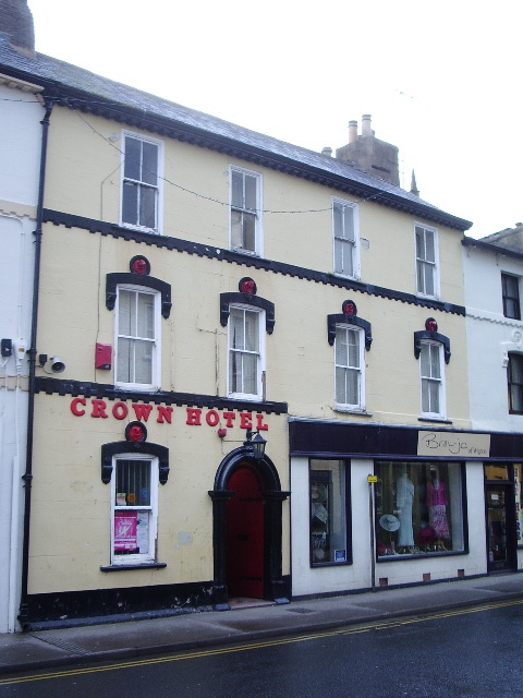 Crown Hotel, High Street. Wigton