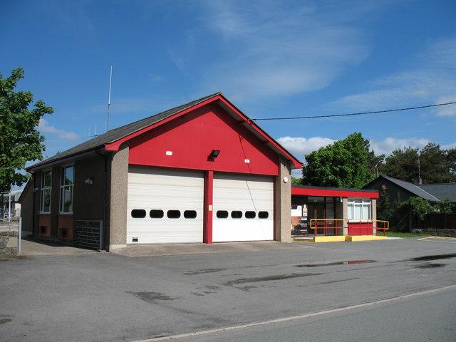 Harlech Fire Station