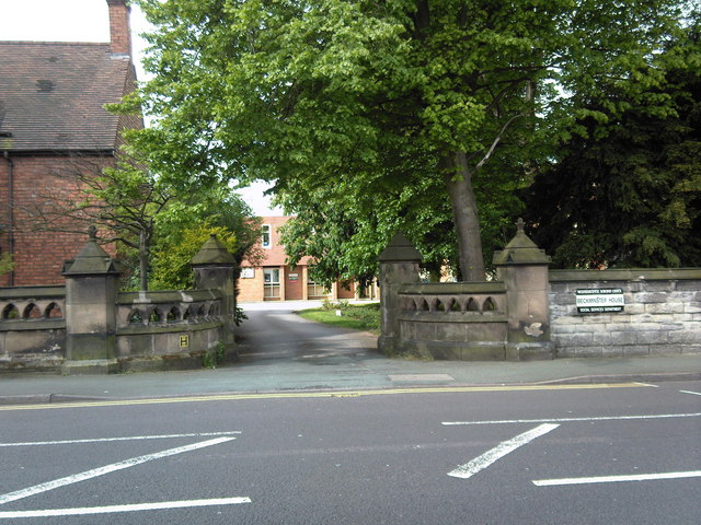 Entrance to Beckminster House.
