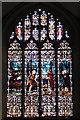 TG5112 : Holy Trinity church - east window by Evelyn Simak