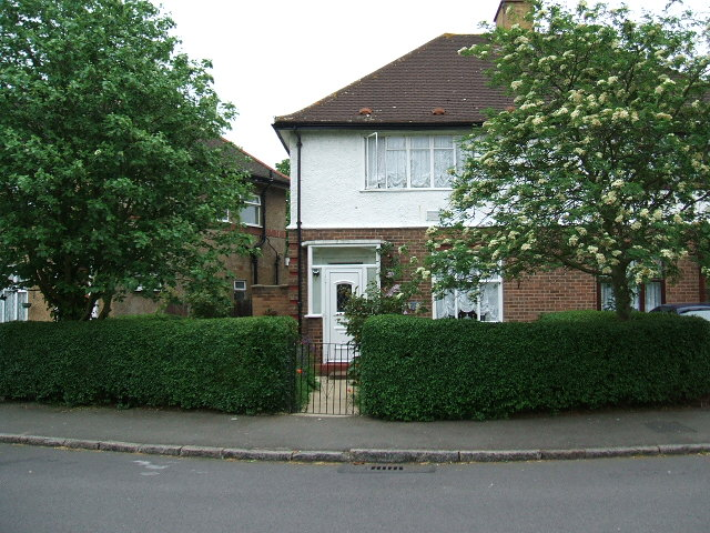"""Residential Property on the """"Poet's Estate"""" in North Feltham."""