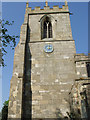 SE7136 : Church Tower, All Saints Bubwith by Peter Church