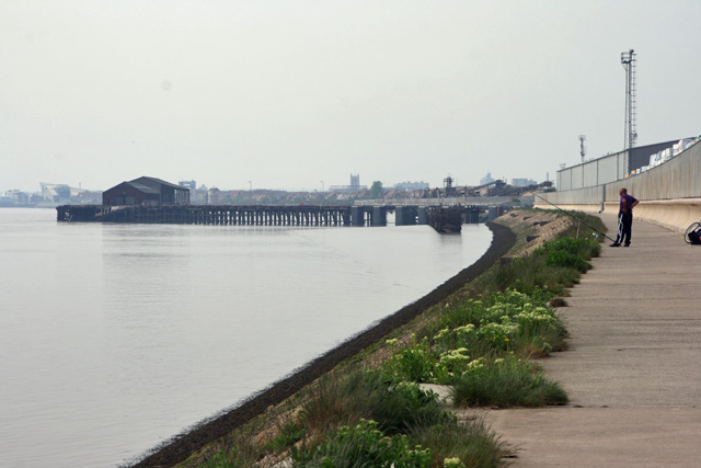 The Trans Pennine Trail, and West Wharf