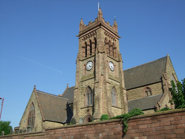 St Michael's church, Garston