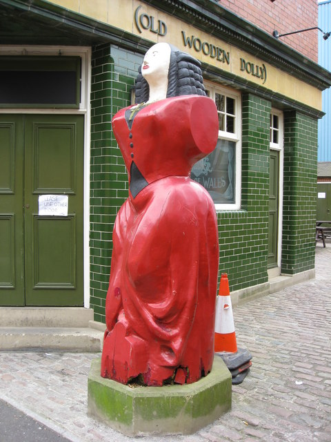 North Shields - The Old Wooden Dolly
