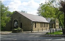 SE0125 : Good Shepherd Catholic Church & Centre - New Road, Mytholmroyd by Betty Longbottom