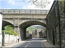 SE0125 : Bridge MVN 2/138 - New Road, Mytholmroyd by Betty Longbottom