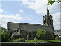 SE0125 : Mytholmroyd Parish Church - New Road by Betty Longbottom
