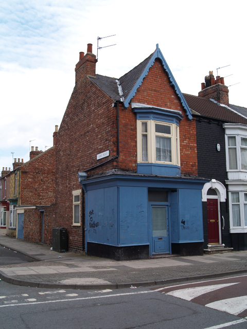 Old Shop on Clifton Street
