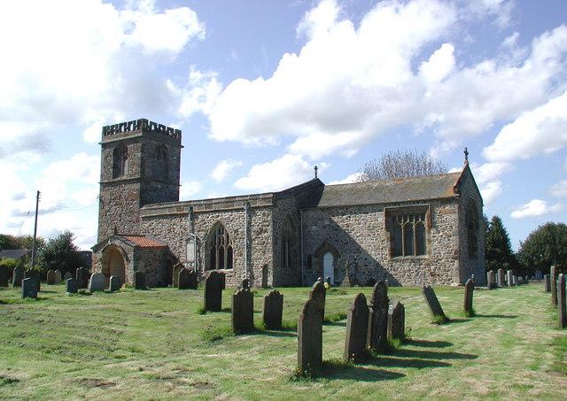 All Saints Church, Barmston