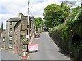SE0426 : Stocks Lane from High Street by Betty Longbottom