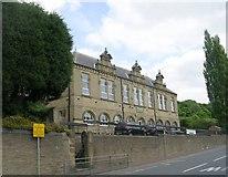 SE0424 : Luddenden Foot Junior & Infants School - Burnley Road by Betty Longbottom