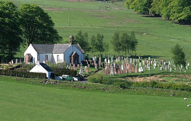 Hutton and Corrie Parish Church and churchyard
