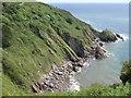 SX9150 : Pudcombe Cove by Derek Harper