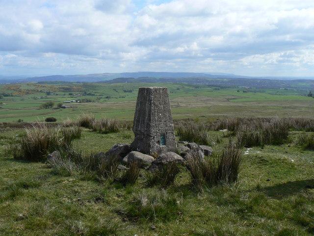 Trig Point on Hardridge Hill