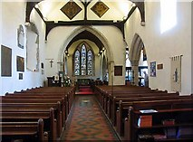 TR0245 : St Mary's Church, Kennington, Kent - East end by John Salmon