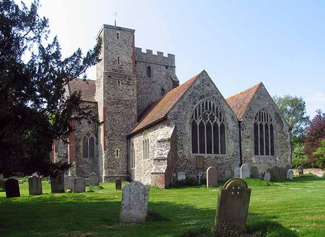 All Saints Church, Boughton Aluph, Kent