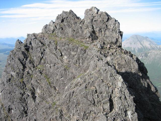 Pinnacle Ridge on Sgurr nan Gillean - Knight's Peak