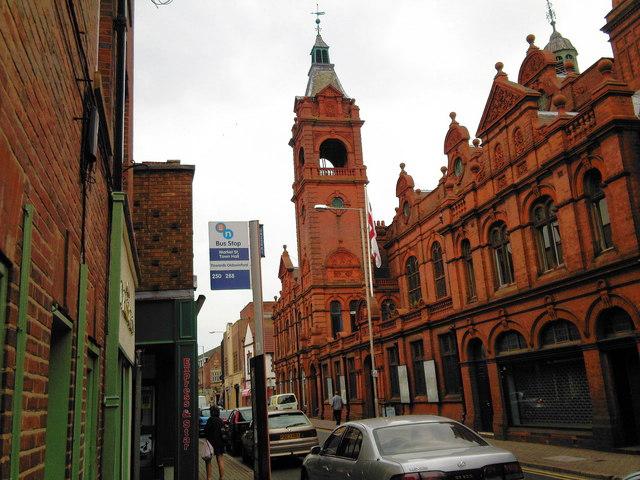 Stourbridge Town Hall.