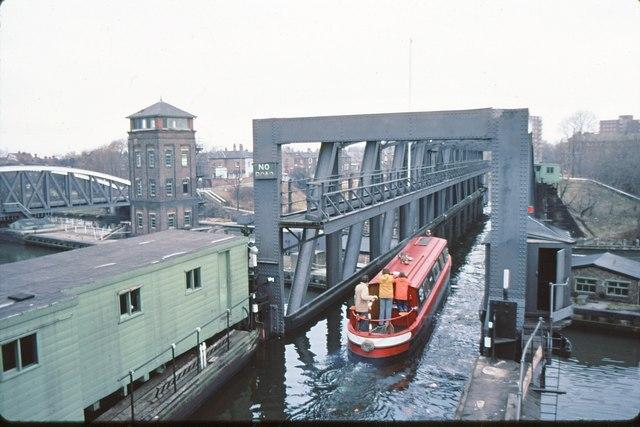 Barton Aqueduct (Bridgewater Canal) 1979