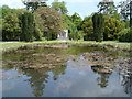 M9380 : Pool and Folly at Strokestown Park by Kay Atherton