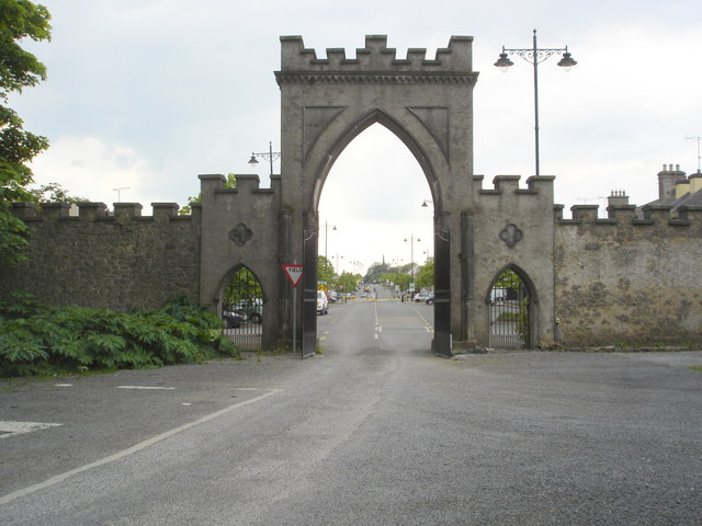 Exit from Strokestown Park