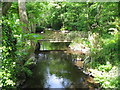 SH5868 : Afon Cegin below Glasinfryn Bridge by Eric Jones