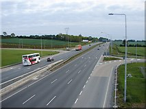 N9825 : Westbound N7 From the Road Bridge by Ian Paterson