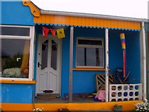 G8667 : Beach Chalet by louise price