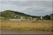 SY2591 : Axmouth from the Seaton Tramway by Katy Walters