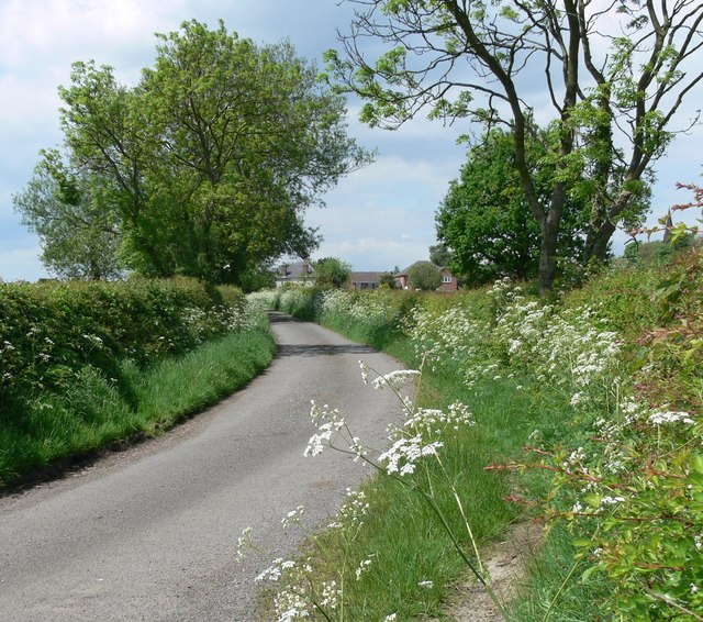 Sandtop Lane in Blackfordby, Leicestershire