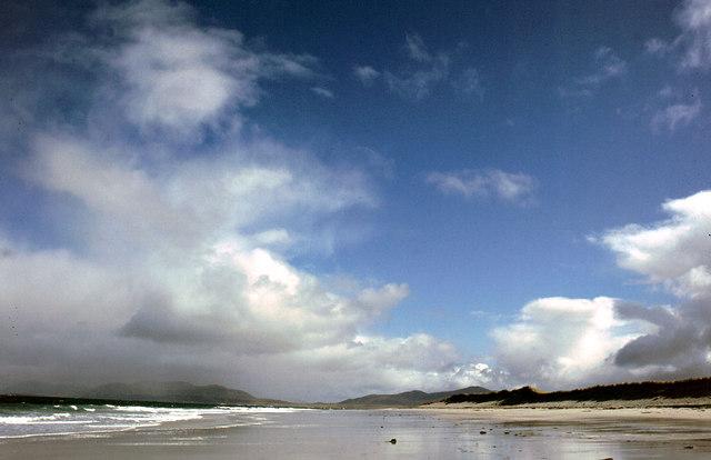 Northern coastline of Berneray