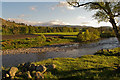 NO2995 : Fields below Creag nam Ban by Nigel Corby
