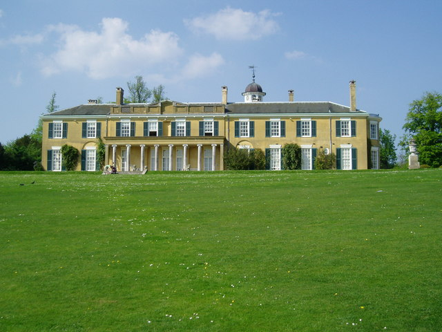 South elevation Polesden Lacey