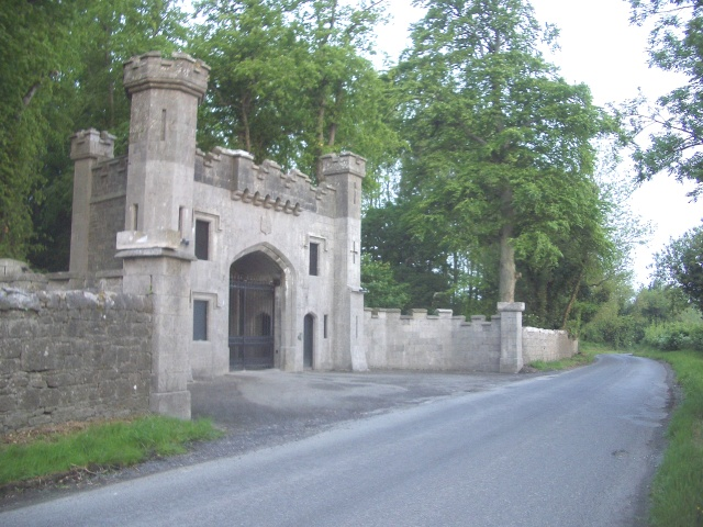 Entrance to Rathaldron House