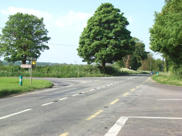 Wicker's Crossroads, Near Slane, Co. Meath