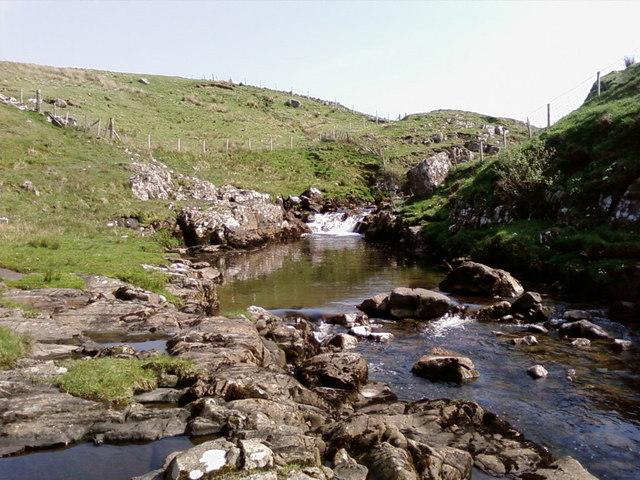 Waterfall on Kilmartin river
