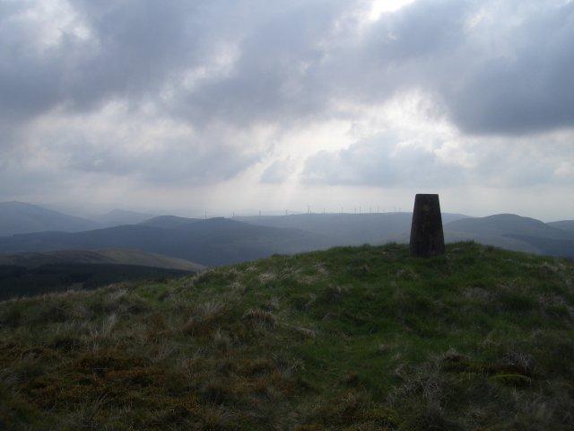 Trig point, Innerdouny Hill