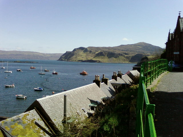 Portree bay from Gathering Hall