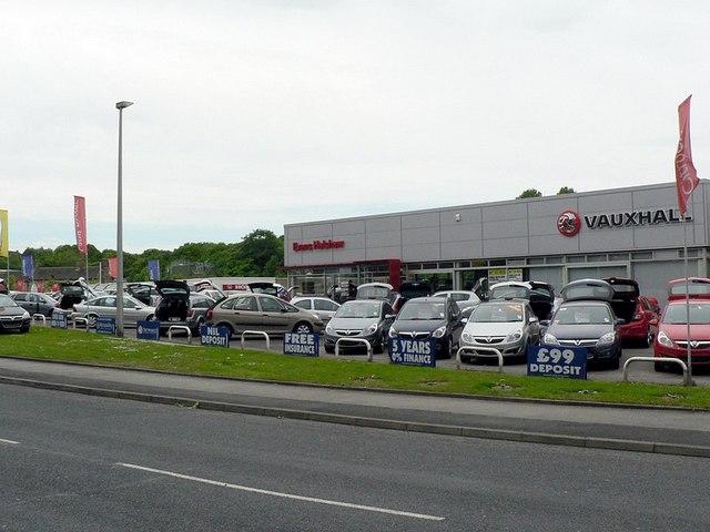 Evans Halshaw Car Sales, Low Lane, Horsforth