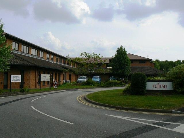Fujitsu Entrance - off Jays Close