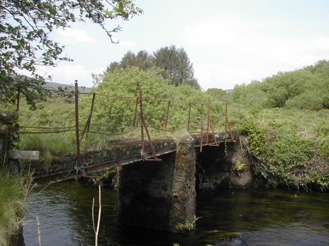 Old footbridge