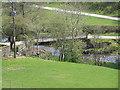 SN8885 : River Severn,Geufron farm bridge. by kevin skidmore