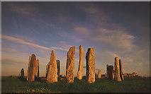 NB2133 : Callanish at sunset by Tom Richardson